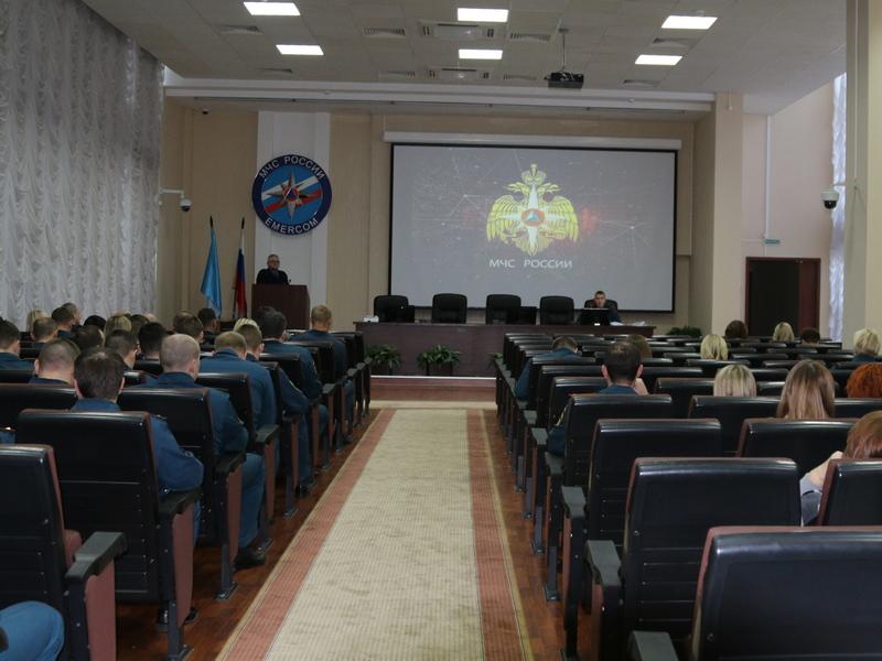 Занятия с личным составом ГУ МЧС России по Нижегородской области
