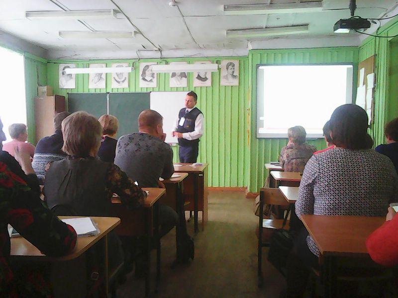 занятия со слушателями в г. Сергач