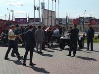 Осмотр техники Начальником ГУ МЧС России по Нижегородской области