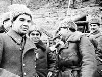 В.И.Чуйков и офицеры